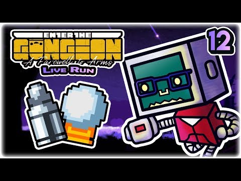 Silver Snowballets | Part 12 | Let's Play: Enter the Gungeon: A Farewell to Arms | Twitch VoD