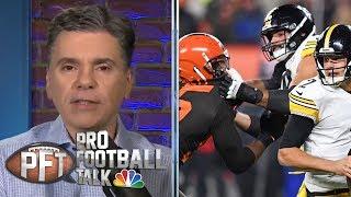 Myles Garrett's defense vs. Mason Rudolph doesn't make sense | Pro Football Talk | NBC Sports