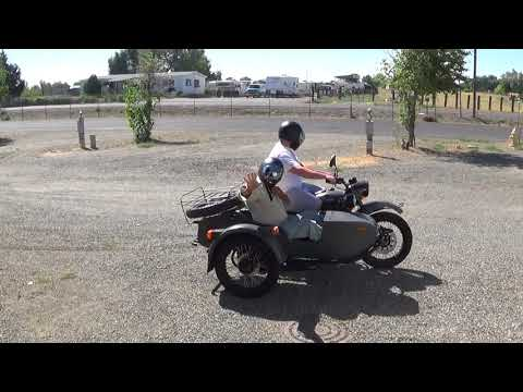 Patsy's Travels: Ural Motorcycle Sidecar Ride 1 of 1