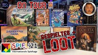 On Tour - SPIEL 21 Brettspiel LOOT & gespielte Eindrücke