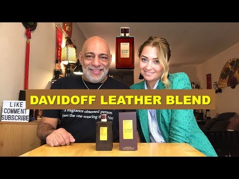 Davidoff Leather Blend (2014) REVIEW with Olya + GIVEAWAY