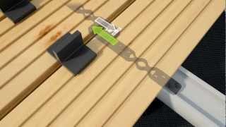 Pattini per terrazzi (Esempi d'impiego)