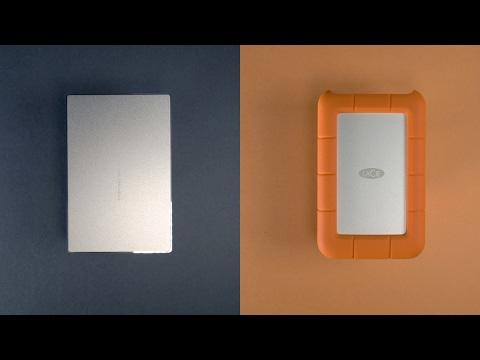 LaCie Porsche Design & Rugged (USB Type-C) Hard Drives – REVIEW!