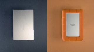 LaCie Porsche Design & Rugged (USB Type-C) Hard Drives - REVIEW!
