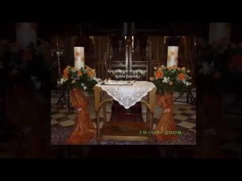 Λαμπάδες γάμου - φωτιστικά
