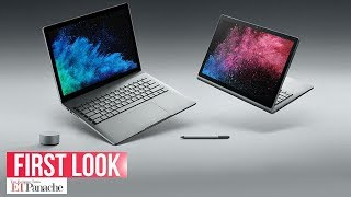 Microsoft Surface Book 2 and Surface Laptop: Unboxing & First Impression