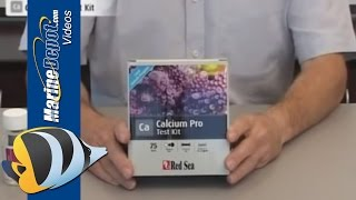 Red sea calcium pro test kit инструкция таблица