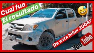 LA TOYOTA  HILUX 2006 CONVERTIDA A 2019 REVO ROCCO  DE HAITI ?  Hillix Auto Parts /  @juanmateojr