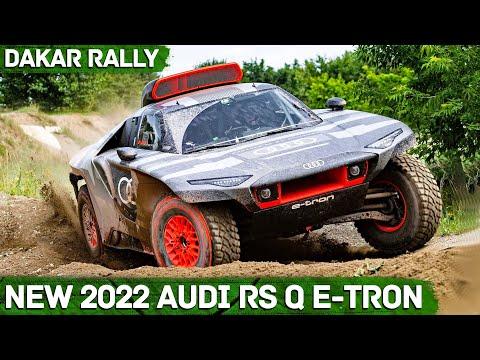 New 2022 Audi RS Q e-tron - DAKAR RALLY CAR