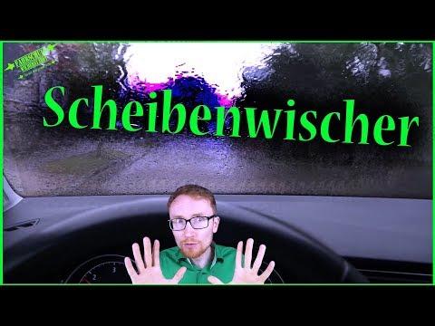 Scheibenwischer / Wischer Bedienung Technik / Fahrschule
