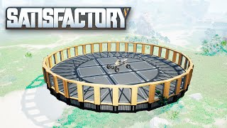 How to Build Circles in Satisfactory