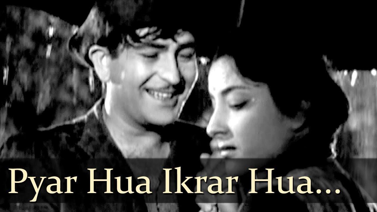 Pyar Hua Ikrar Hua Hai  Manna Dey & Lata Mangeshkar Lyrics