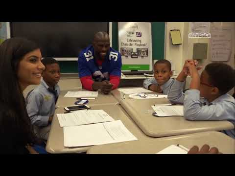 Michael Thomas Nominated for Walter Payton Man of the Year Award | New York Giants | MSG Networks