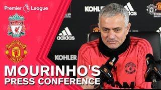 Jose Mourinho's Press Conference | Liverpool v Manchester United | Premier League