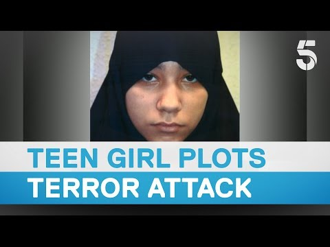 British teenage girl found guilty of plotting IS terror attack - 5 News