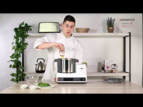 Vídeo Receta kCook Multi de Kenwood -Espaguetis al pesto-