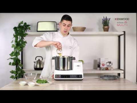 Vídeo Receta kCook Multi de Kenwood -Espaguetis al pesto-