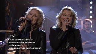 Píseň Dým - zpěv Duo Kamelie - Show Jana Krause  2. 3. 2016