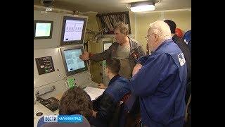 Построенный в Калининграде десантный корабль приступает к швартовным испытаниям