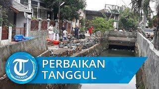 Perbaikan Tanggul Jebol di Perumahan CKP Jatiasih Bekasi Ditargetkan Rampung Dua Pekan