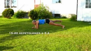Enkel Sommertrening: Inspirasjon til effektiv hjemmetrening!