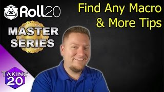 Roll 20 Tips & Tricks - Setting up Fights - Самые лучшие видео