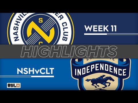 Nashville SC - Шарлотт Индепенденс 1:1. Видеообзор матча 19.05.2019. Видео голов и опасных моментов игры