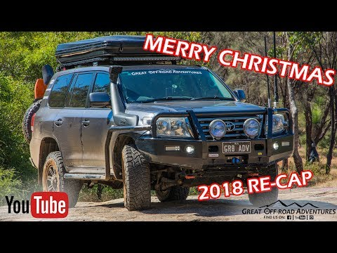 Merry Christmas & 2018 Re-Cap Of Great Off-Road Adventures