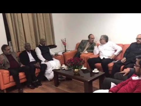 Opposition leaders meet ahead of winter session of Parliament