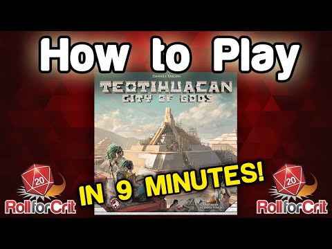 How to Play Teotihuacan: City of Gods | Roll For Crit
