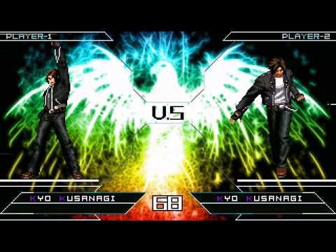 [KOF Mugen] Kyo Kusanagi SP VS Kyo XIII & Yuki