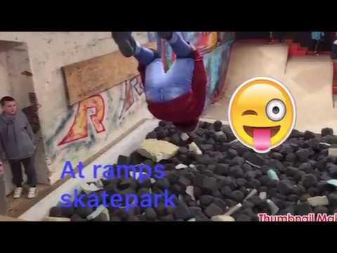 At ramps skatepark