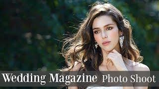 Bridal Photo Shoot | How To Pose For Wedding Photos | My Life As A Model In Korea |Maria Maria