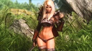 Hottest Women Mods Of SKYRIM  WIth Epic Music.