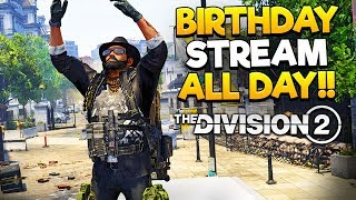 Division 2 - Day 5 - 1Yr Anniversary & Birthday Stream - Part 1