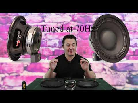 "Seismic Audio Richter-8 VS Dayton Audio PA200-8 8"" Best car audio Midrange Speakers Vocal Sound Test"