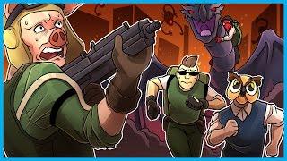 Black Ops 3 Zombies Gorod Krovi Easter Egg Funny Moments! - BIG GUY, The Great Phoenix Up Debate!
