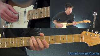 Sailing Guitar Lesson - Christopher Cross