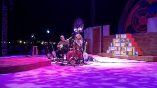 Béla Fleck & Abigail Washburn - Nobody's Fault but Mine.  Prescott Park, Portsmouth, NH, July 2015.
