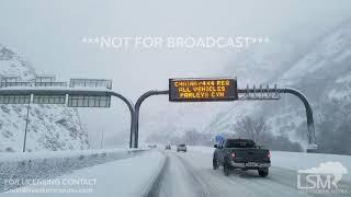 03-04-18 Salt Lake City Heavy Snowfall