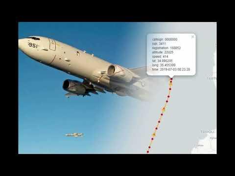 🌍Американский противолодочный самолёт исчез у российской военной базы в Сирии