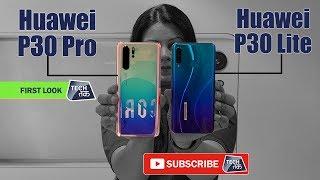 Huawei P30 Pro & Huawei P30 Lite भारत में हुए लांच | First Look | Tech Tak