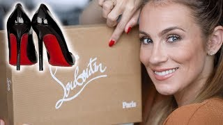 Christian Louboutin Heels Review/Unboxing + STORY TIME! How Matt Surprised Me! | Angela Lanter