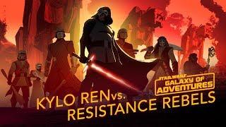 Episode 2.08 Kylo Ren vs. Resistance Rebels (VO)