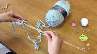 How To Knit 3 Purl Stitch