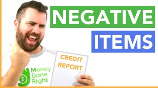 6 Ways to Remove Negative Items From Your Credit Report