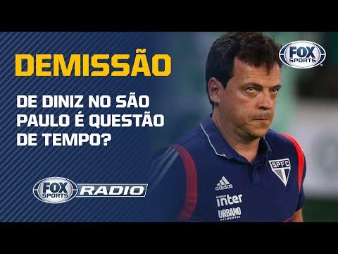 HOJE É O ULTIMO JOGO DE DINIZ COMO TREINADOR DO SÃO PAULO? Veja o debate no FOX Sports Rádio