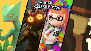 More Super Smash Bros TOP 10 Fan-Made Trailers -  Inkling's, Sceptile, & More