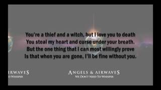 Angels & Airwaves - Do It For Me Now Lyrics