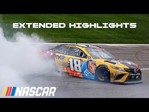 NASCAR カンザス・スピードウェイ ハイライト動画